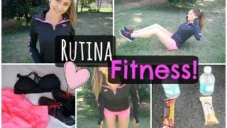 Rutina FITNESS 2015 ♡ Abdomen plano + Esenciales!