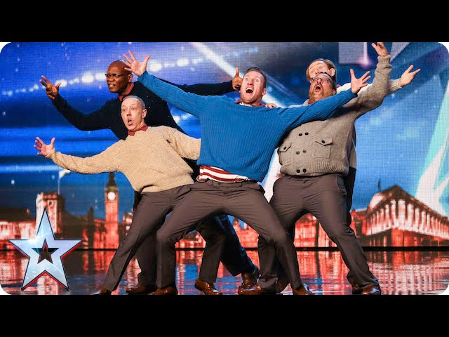 Old Men Grooving bust a move, and maybe their backs! | Britains Got Talent 2015