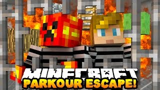 THE PARKOUR ESCAPISTS! | Minecraft TWO-PLAYER PARKOUR CHALLENGE
