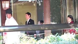 平成30年 高円宮絢子女王殿下 明治神宮 結婚式