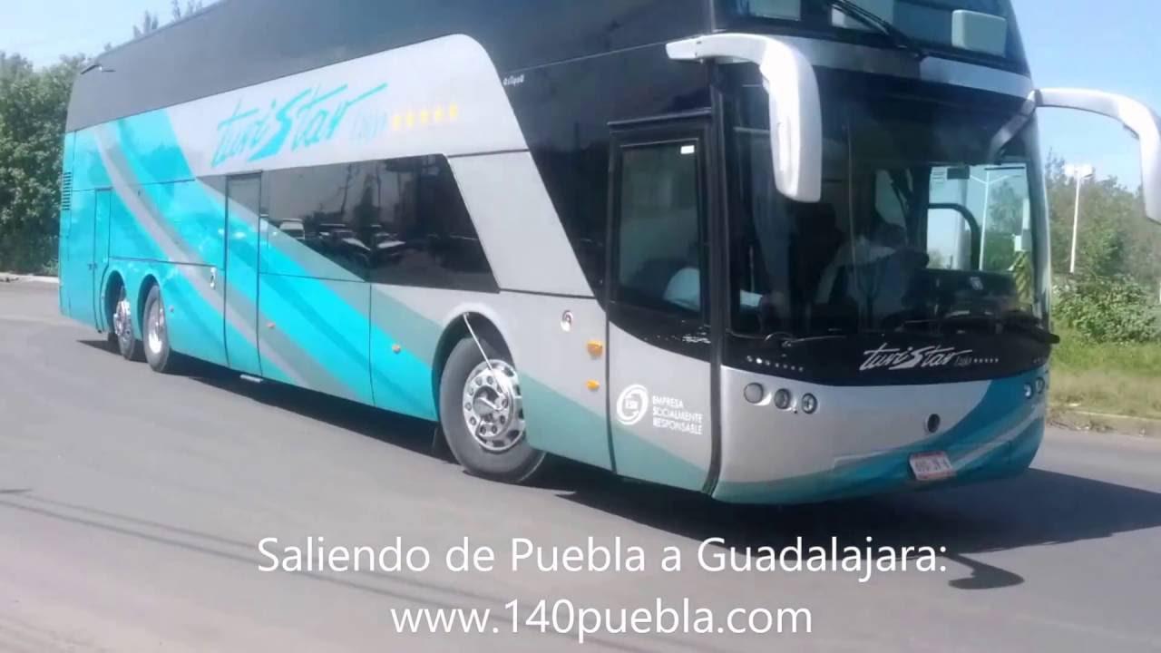 Autob s de dos pisos de turistar lujo en puebla youtube - Autobuses de dos pisos ...