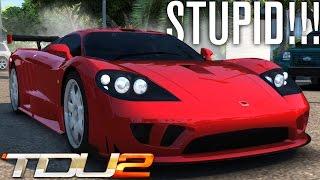 STUPID 1000HP+ SALEEN S7?! | TEST DRIVE UNLIMITED 2 MODS (TDU2)
