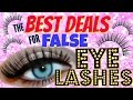 WHERE TO BUY FALSE EYELASHES CHEAP!! - MONEY SAVING MONDAY