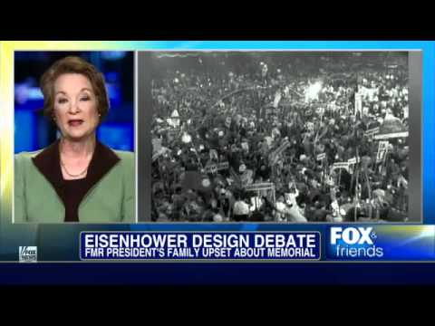 Fox News: Susan Eisenhower And Eisenhower Family Upset About Memorial
