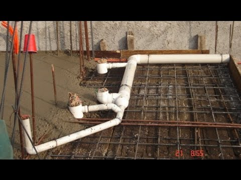 Como instalar la tuberia de un ba o explicado paso a paso - Desague bano ...