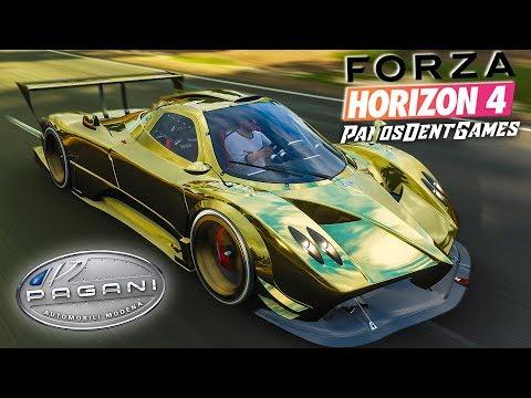 ΤΟ ΟΛΟΧΡΥΣΟ PAGANI ZONDA R ΜΕ ΤΑ 1000 ΑΛΟΓΑ | Forza Horizon 4 Full Game thumbnail