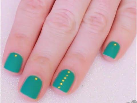 дизайн для коротких ногтей 3