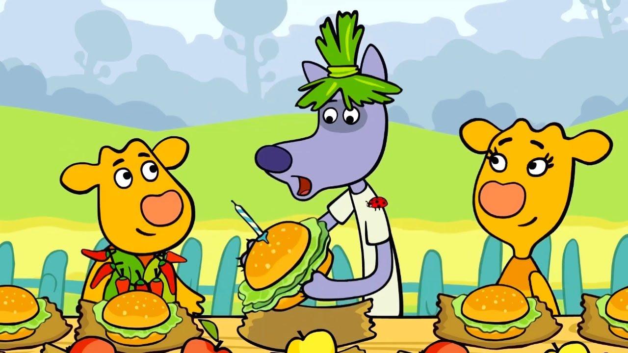 Премьера! Оранжевая Корова - Сборник серий 19-21  😃 Kedoo Мультики для детей
