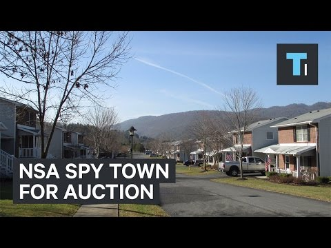 NSA spy town for auction