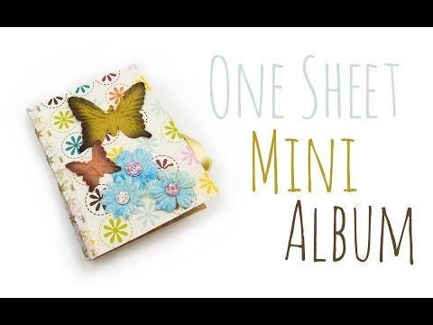 Foto Mini Album | DIY Geschenk Ideen #03 | Weihnachts-Serie 2014