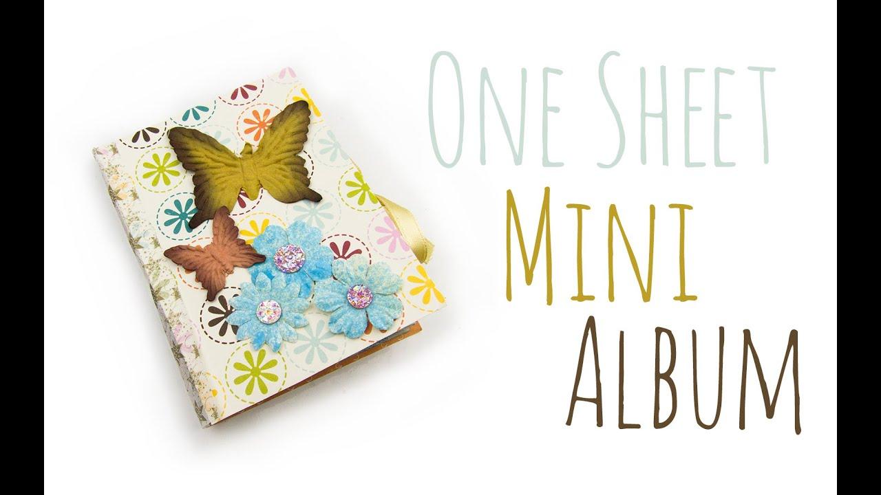 Foto Mini Album | DIY Geschenk Ideen #03 | Weihnachts-Serie 2014 ...