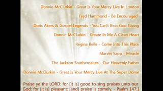 Donnie McClurkin - Great Is Your Mercy Live In London