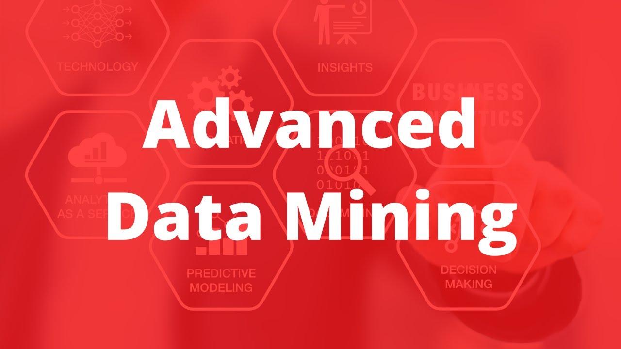 Advanced Data Mining Course Tutorial