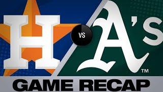 4/17/19: Chapman, Montas lead Athletics to a 2-1 win