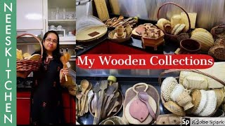 My wooden collections - Kitchen tour 3