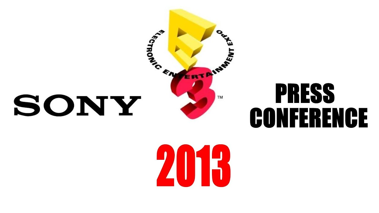E3 2013 Sony Press Conference (With Commentary) - YouTube