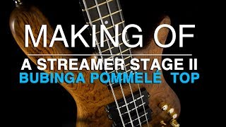 MAKING OF a Warwick Custom Shop Streamer Stage II - for Tool