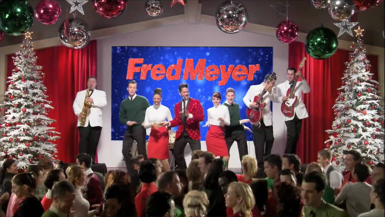 fred meyer holiday twist video ad - Fred Meyer Christmas Trees