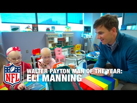 Walter Payton Man Of The Year Finalist: Eli Manning | NFL