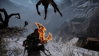 "God of War NEW GAME PLUS: Baldur ""The Stranger"" Boss Fight"