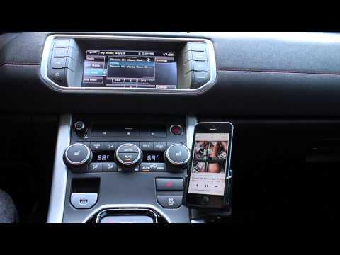 iTunes Radio iOS7 Range Rover Evoque