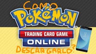 ¡Como DESCARGAR el Pokémon JCC online en un telefono movil!