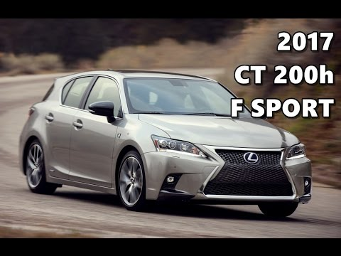 2017 lexus ct 200h f sport youtube. Black Bedroom Furniture Sets. Home Design Ideas