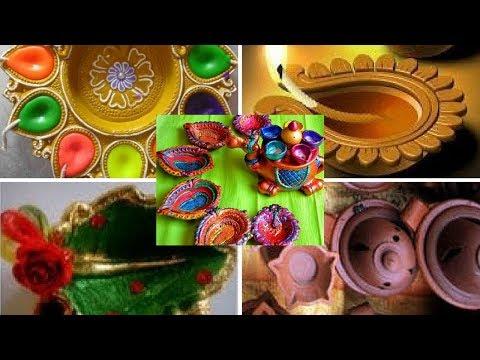 Karthigai Deepam Agal Villakku Arrangements pooja Simple Ideas