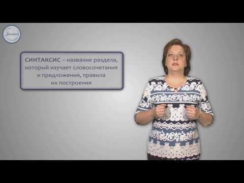 Русский 5 Что такое синтаксис и пунктуация