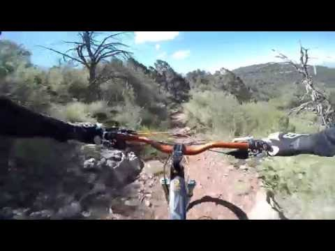 Ripping 533 on Mingus Mountain