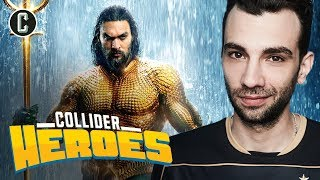 Aquaman 2 is Happening…and The Trench?! Interview with Jay Baruchel - Heroes