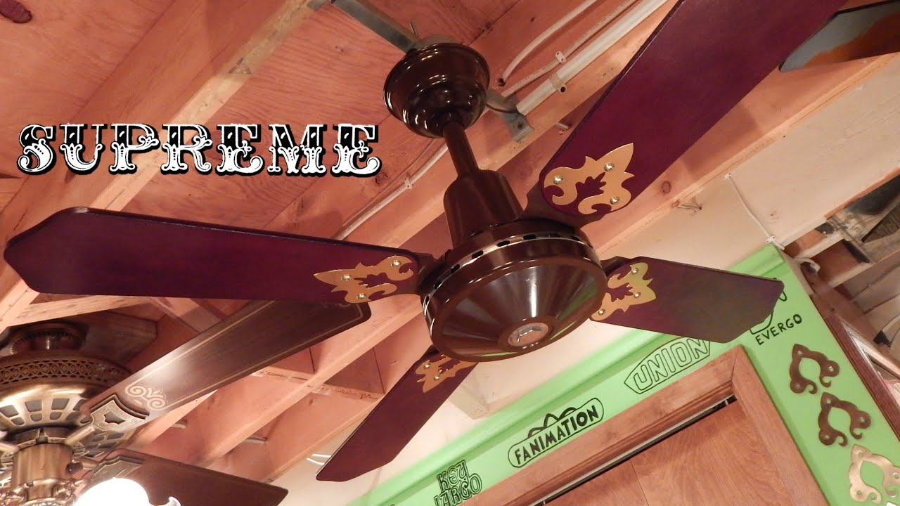 Supreme Mark I Ceiling Fan