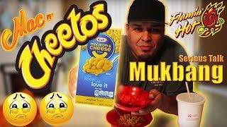 Mac N Cheetos Mukbang
