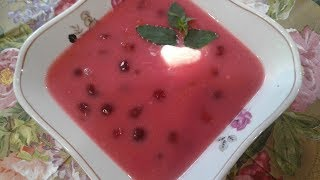 Вишневый суп - Венгерская кухня