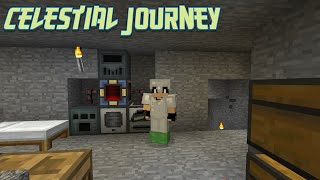Adventures in Mining and Starting Machines : Celestial Journey Lp Ep #2 Minecraft 1.12