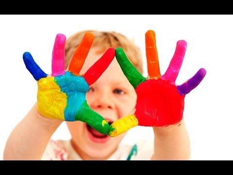Parmak Boya Parmak Boya Resim Yapma 2 Yas Etkinlik Finger Paint