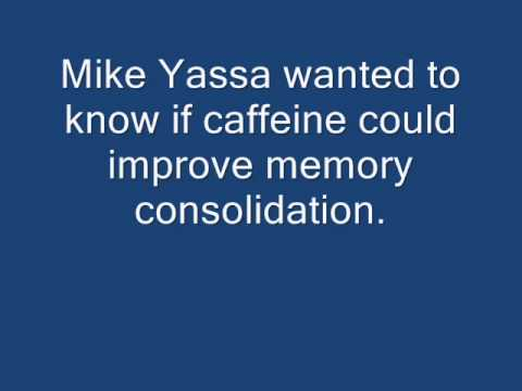CAFFEINE  long term memory