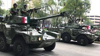 Mexican Independence Day Parade, Mexico City, 9/16/18