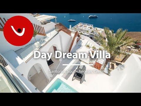 Day Dream Villa to Rent in Santorini Greece | Unique Villas | uniquevillas.gr