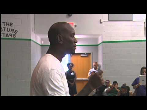 Actor Tyrese Gibson visits Wilmington middle school [Delaware Online News Video]