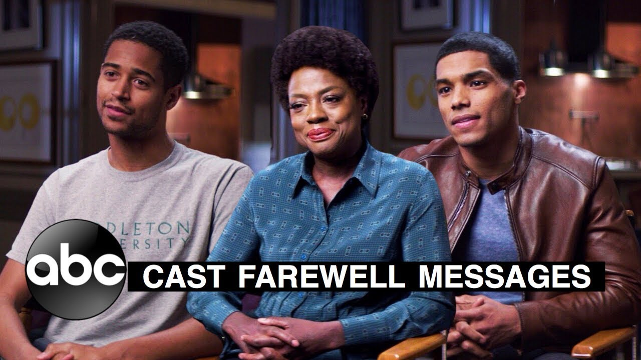 Download How to Get Away with Murder Season 6 (ABC) Emotional Goodbye Messages From The Cast
