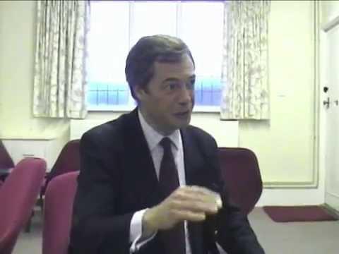 UKIP  - Nigel Farage -  Christchurch England