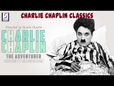 The Adventurer l Charlie Chaplin l Funny Silent Comedy Film (1917)