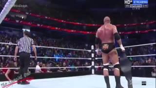 عندما تدخل شيلات على المصارعة رومان رينز !!