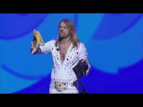 Funniest magic trick with a banana / bandana by Carl Einar Hackner