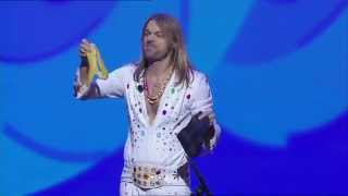 Funniest magic trick with a banana / bandana by Carl Einar Hackner