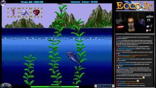 Ecco Jr. прохождение [Hard] (U) | Игра (SEGA Genesis, Mega Drive, SMD) 1995 Стрим RUS