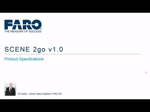 New Free App from FARO: SCENE 2go - Securely Share Your Project Without  Internet