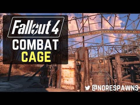fallout 4 wasteland workshop how to fix damaged cages