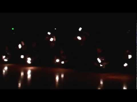 Washtenaw Christian Academy's 2012 Homecoming Flash Light Routine